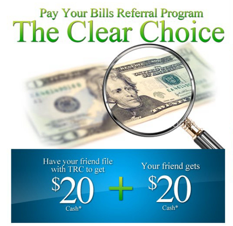 Get CASH when you refer your friends!